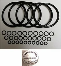 Universal Kegco Type O Ring Five Gasket Sets For Cornelius Home Brew Keg And