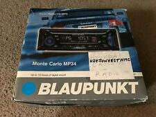 BLAUPUNKT CAR STEREO AUDIO RADIO CD MP3 MONTE CARLO MP34 HYUNDAI WITH BOX !