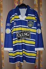 LEEDS RHINOS RUGBY FOOTBALL LEAGUE 1993/1994 UMBRO JERSEY SHIRT ENGLAND SIZE L