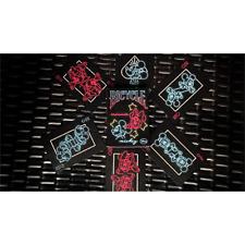 Mazzo di carte Mickey Mouse Neon Playing Cards - Carte da gioco