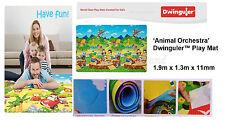 Dwinguler Kid's Playmat baby rug kids floor mat Animal Orchestra Made in Korean