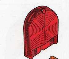 Plastica fanalino posteriore rosso Fiat 1300/1500