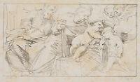 F. PILOTY, n. G. RENI (1575), Hl. Familie mit kleinem Johannes, Lith, 1811-1816