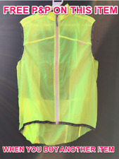 RSP WOMENS SIDEWINDER ULTRASKYN WATER RESISTANT REFLECTIVE GILET SIZE 14 (XL)