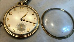 Hamilton Pocket Watch 917, 17 Jewels 1951 with fob