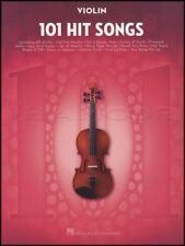 101 Hit Songs for Violin Sheet Music Book Snow Patrol Katy Perry Lady Gaga