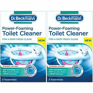Dr Beckmann Toilet Power Foaming Cleaner X2 Boxes = 6 Treatments