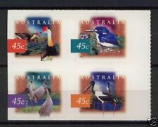 Australie 1997 wetlands birds  zelfklevend  postfris/mnh
