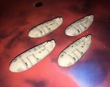 Micro Machines Star Wars Lot X4 Gallofree GR-75 Rebel Assault Transport Fleet