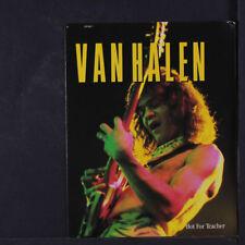 VAN HALEN: Hot For Teacher / Same 45 (gatefold pvc sleeve w/ mini poster)