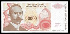 World Paper Money - Bosnia & Herzegovina 50000 Dinara 1993 P150 @ Crisp Unc