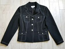 Conrad C Suit Jacket/Blazer size 4 Petite 4P - black