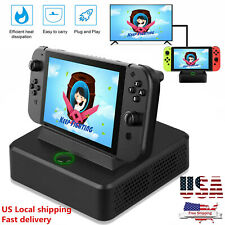 TV Switch HDMI Converter Charging Dock Station Accessories For Nintendo Switch