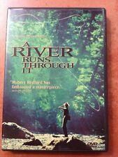 ☀️ A River Runs Through It DVD Brad Pitt French Spanish Portuguese Audio MINT R1