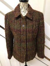 M&S Per Una Boucle Jacket Italian Fabric Blazer Style Coat Wool Mohair Alpaca 12