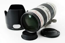 Canon EF 70-200 mm F/2.8L USM Telephoto Lens w/Hood From Japan [ Excellent+++ ]