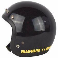 VTG BEAUTIFUL '75 BELL MAGNUM MAG III 3 MOTORCYCLE CAR RACING HELMET BLACK 6 7/8