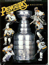 May 3, 1996 - Pittsburgh Penguins vs. New York Rangers Stanley Cup Game Program