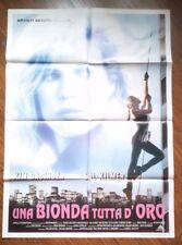 FILM- UNA BIONDA TUTTA D'ORO,ANNO 1993-MANIFESTO ORIGINALE(100 X 140)N.56