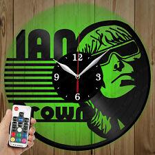 LED Vinyl Clock Ian Brown LED Wall Art Decor Clock Original Gift 2929