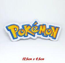 Pokemon Spiel Film Logo Eisen / Aufnäher Gestickte Abzeichen Applikation #1027