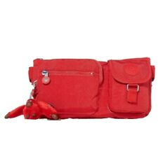 Kipling Presto Cherry Tonal Red across body / waistpack bum belt bag New  RRP£45