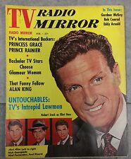 TV RADIO MIRROR FEBRUARY 1961 PRINCESS GRACE PRINCE RAINER ALAN KING