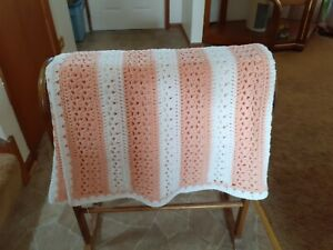 handmade crochet afghan / throw blanket
