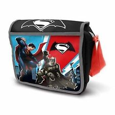 BatmanVSuperman Courier DAWN OFJUSTICE Insulated Back To School BLACK Lunch Bag
