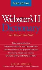 Webster's II Dictionary (2005, Paperback)