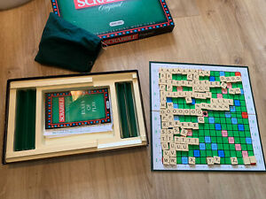 Vintage Spears Games Scrabble Original Board Game 1988 - Complete