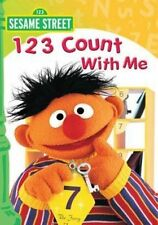 Sesame Street 123 Count With Me - DVD Region 1