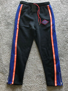 Nike Air Jordan 4 Union Noir Track Suit Pants Ck9535-010 Size Large NWT