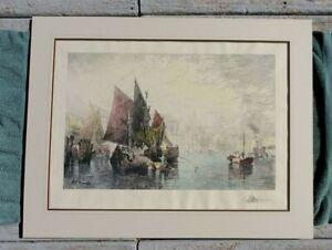"Thomas Moran, ""Venice"""