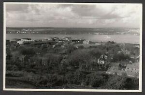 Postcard Pembroke Dock in Pembrokeshire Wales RP by S J Allen