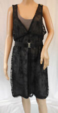 ★ Mamalicious ★ XL ~  Edles Umstands - Kleid Val Lace Dress ~ m. Gürtel ~ 2in1