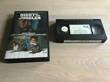 Night of the Juggler  - James Brolin -revenge movie-Dutch Ex Rental big box Vhs