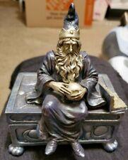 1998 Vandor Wizard Trinket Jewelry Box #78R