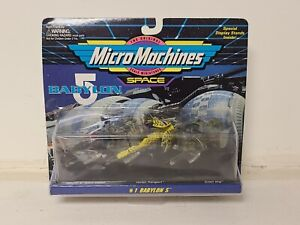 The Original Micro Machines Scale Miniatures #1 BABYLON 5 SPACE 1994