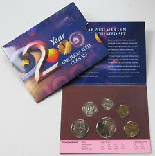 Royal Australian Mint Year 2000 Millennium Six Coin Uncirculated Set