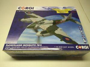 "Corgi AA34605 DeHavilland Mosquito FBVI NS850 ""Black Rufe"" 1/32 Scale 1039/1500"