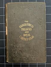 Geographical Treasury Royal Cabinet Atlas 50 Maps 1820 Antique Hardcover London