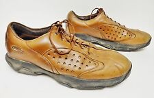 Oakley Leather Shoes Sneakers Hiking Trail Athletic Lace Up Brown Men's 10.5