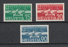 Switzerland ~ 1932 Air Mail Disarmament Conference  Sc# C16-8  */LH  (au049)