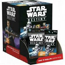 Star Wars Destiny: Spirit of Rebellion Booster Box of 36 Packs Dice Card NEW