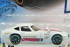 HOT WHEELS VHTF 2020 OLYMPIC GAMES TOKYO SERIES TOYOTA 2000 GT