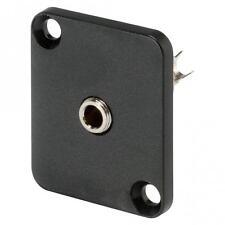 HICON Mini-Klinke (3,5mm), 3-pol , Metall-, Löttechnik-Einbaubuchse, vernickelte