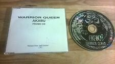CD Reggae Akabu - Warrior Queen (14 Song) Promo ON-U SOUND sc