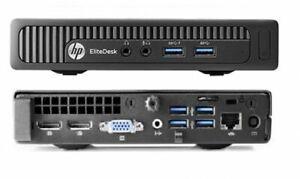 HP EliteDesk 800 G1 Mini PC Core i5 4590T 2.0GHz 8GB 120GB 240GB 480GB SSD Win10