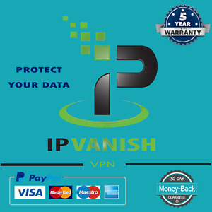 IPVanish VPN ✔ Premuim Account  ✔5 years Warranty✔ Instant Delivery